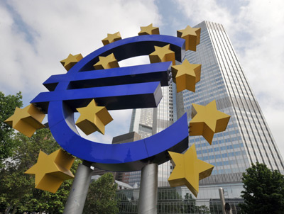 Hausse des dépôts à la BCE