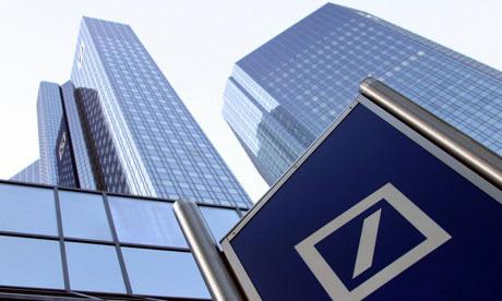 Amende pour Deutsche Bank aux Etats-Unis