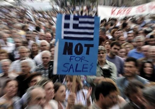 Baisse de la note de la Grèce Standard and Poor's