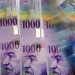 Cours du franc suisse