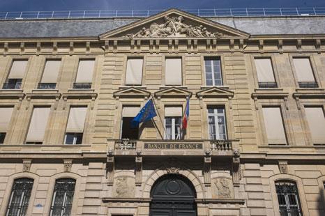 Banque de France bénéfice 2012