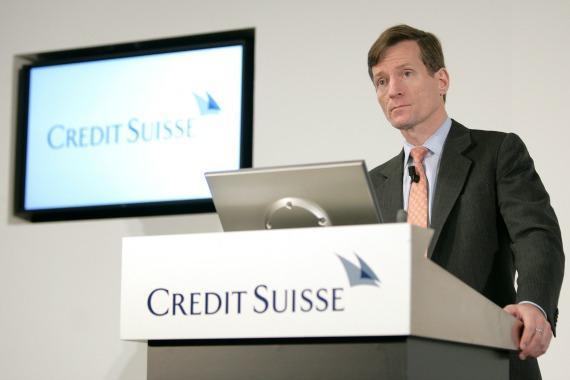 Hausse des bénéfices de Credit Suisse