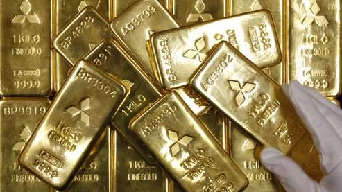 Le cours de l' or en pleine chute depuis 3 ans