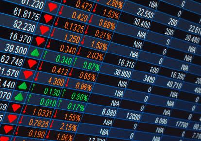 Evolution des marchés actions européens et américains