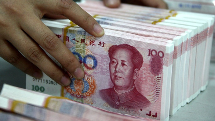 le yuan toujours à la baisse